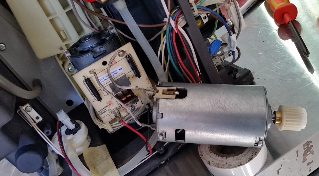delonghi brew motor